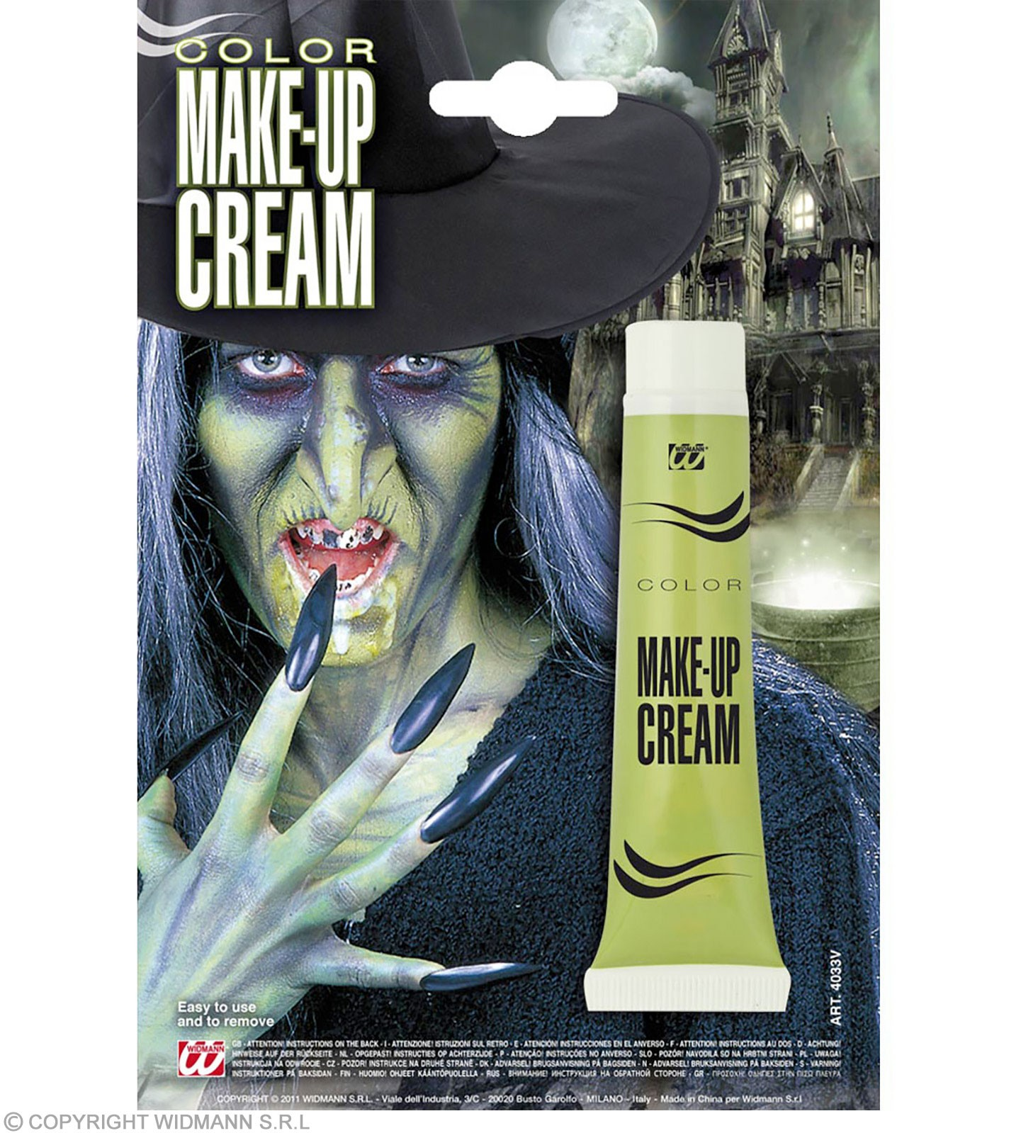 Makeup Tube Green - Fancy Dress