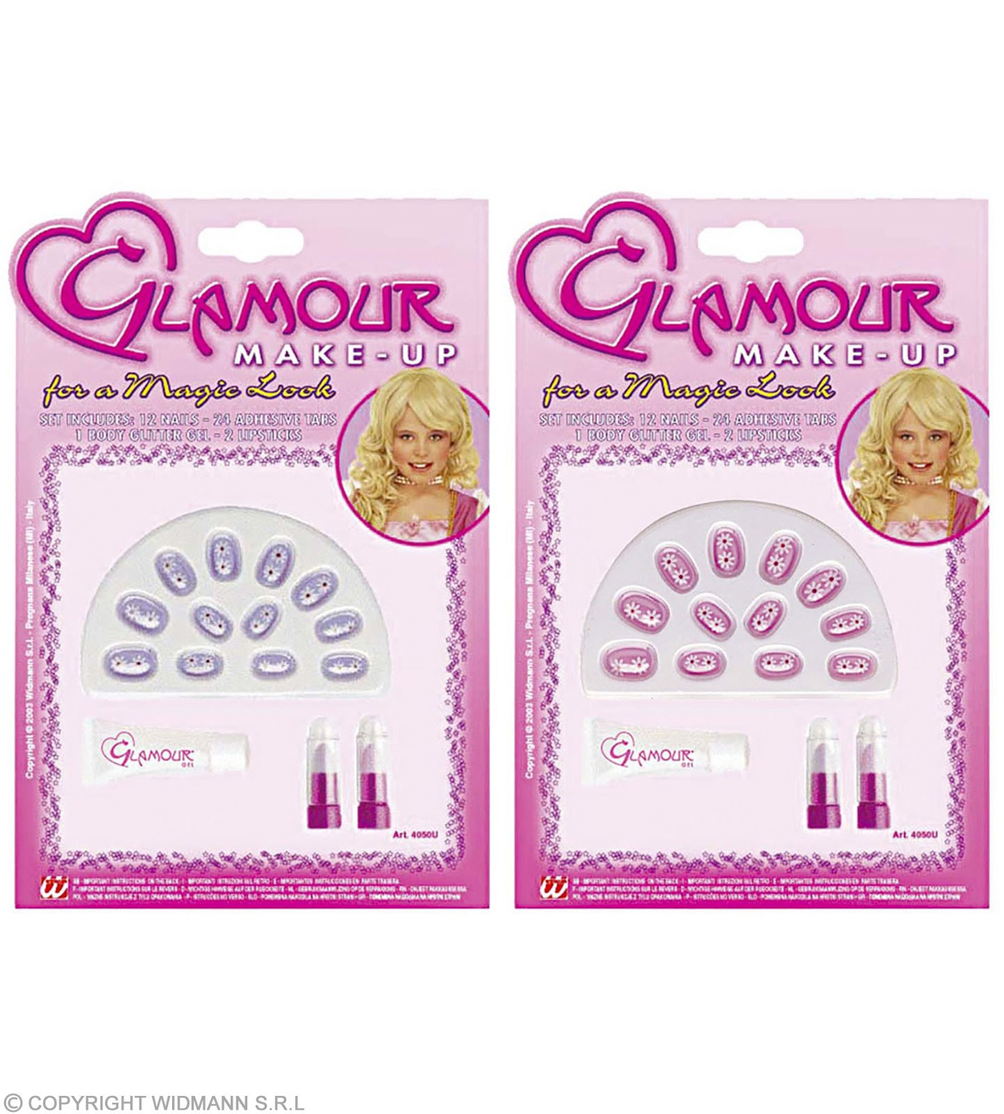 Glamour Girl Lipstick / Gel Nails Set - Fancy Dress