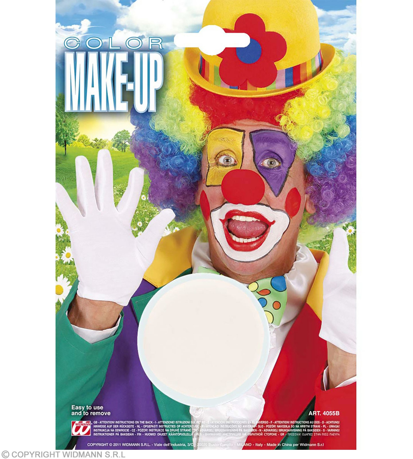 Makeup In Tray White - Fancy Dress