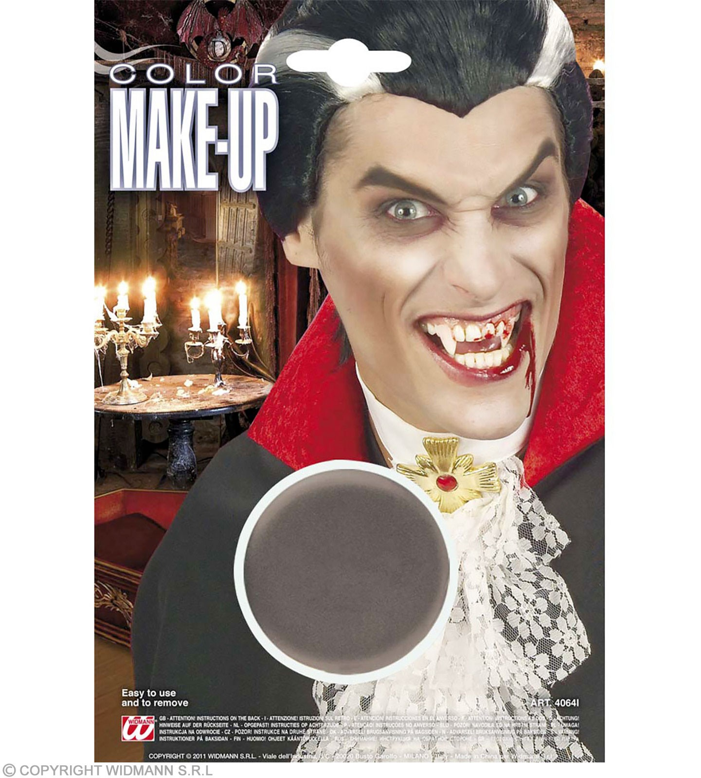 Makeup In Tray Grey - Fancy Dress
