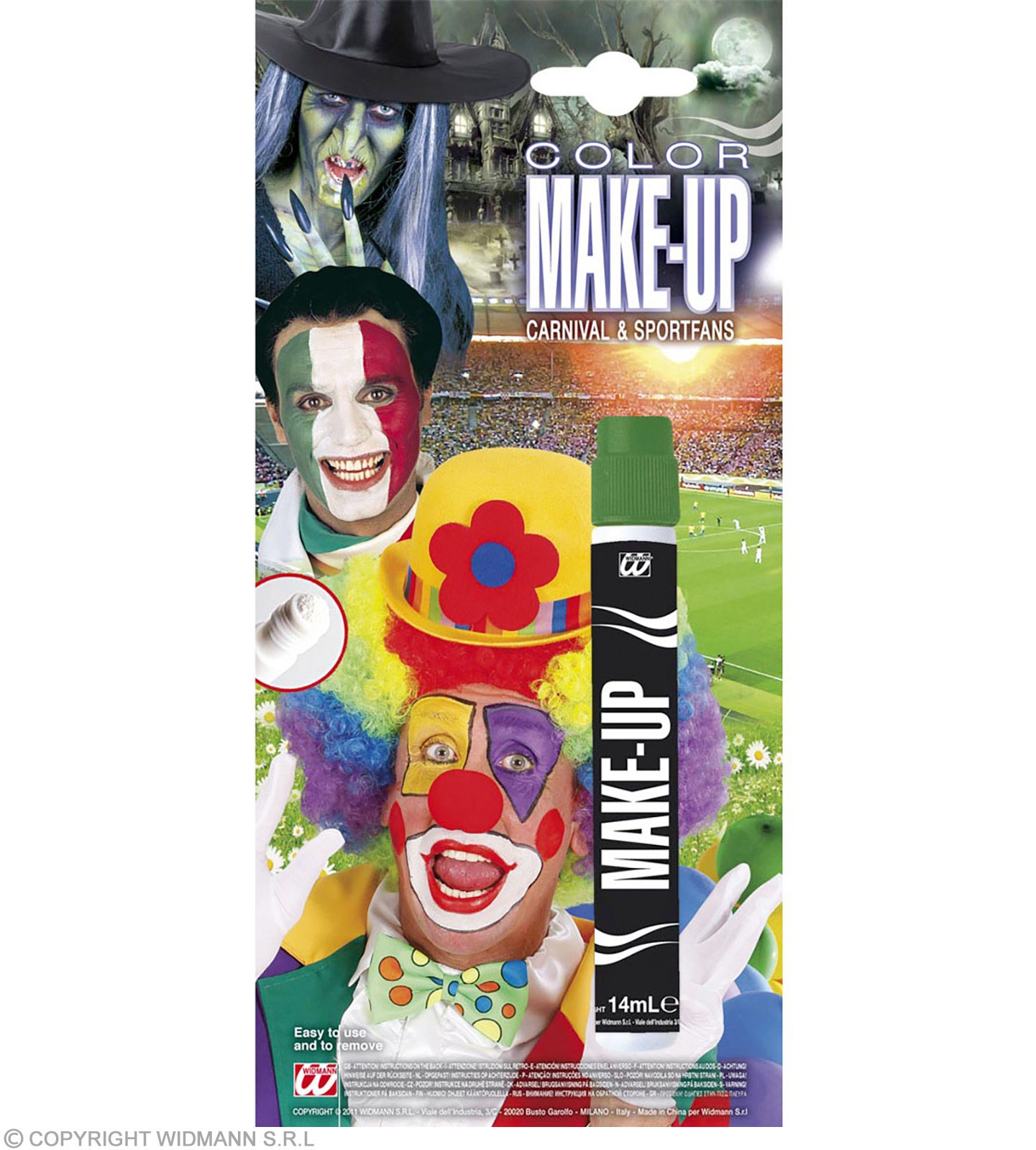 Makeup Applicator Stick Green - Fancy Dress