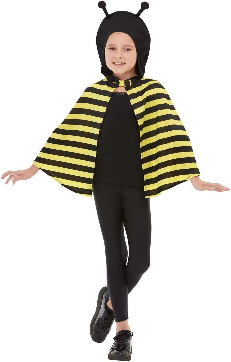 Bumblebee Hooded Cape Animals Fancy Dress