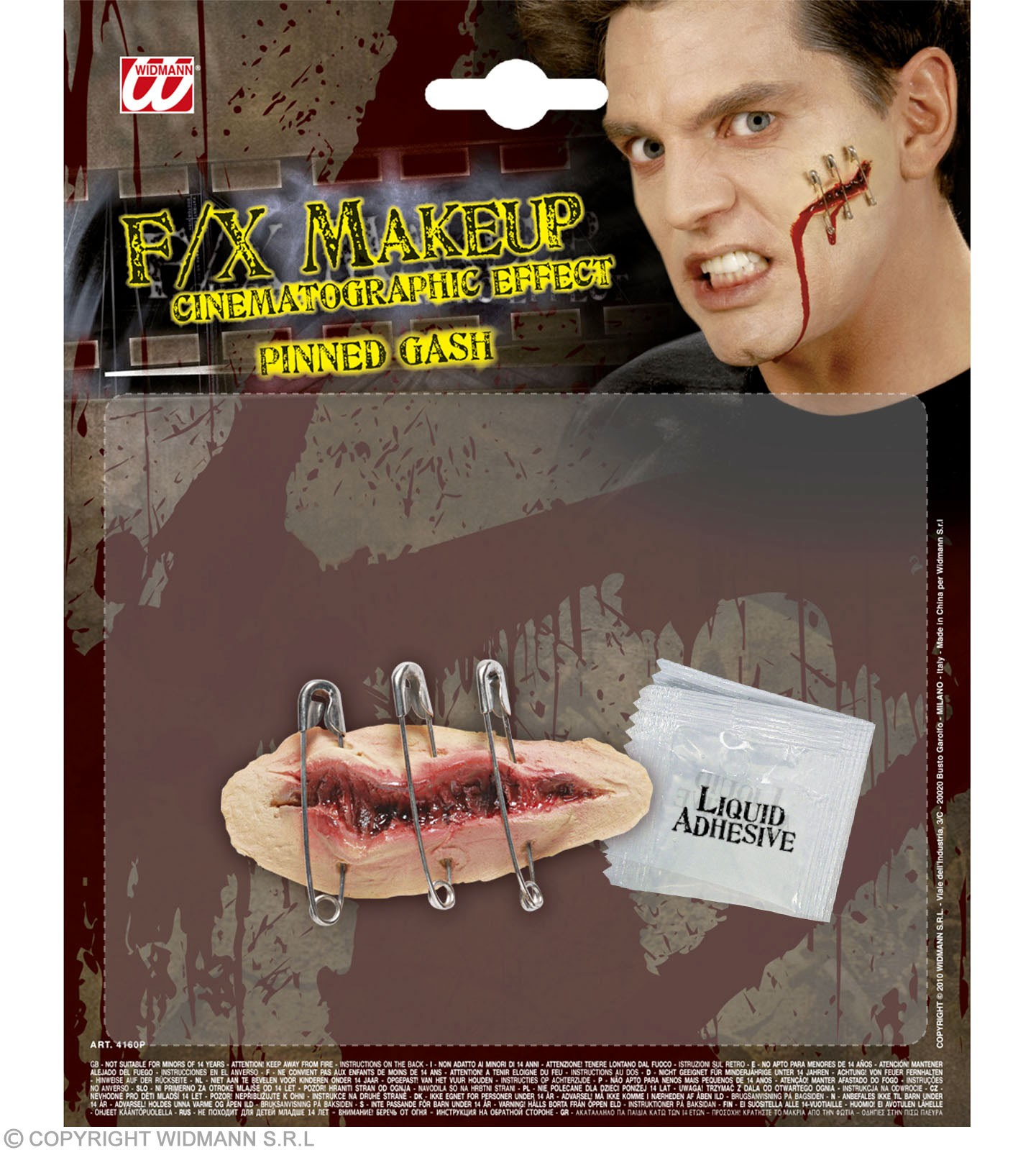 Sfx Pinned Gashes - Fancy Dress