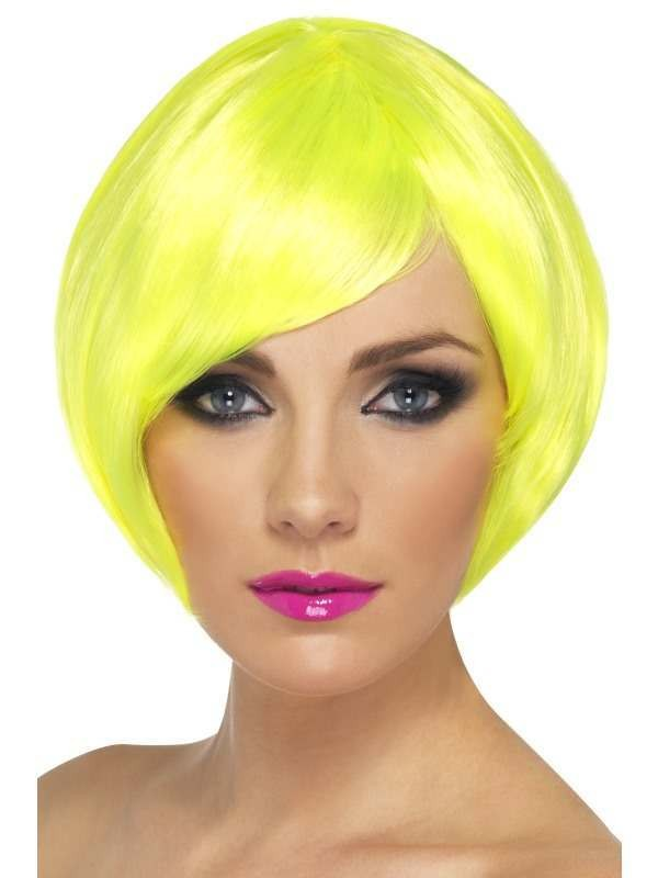 Babe Wig - Fancy Dress Ladies - Yellow