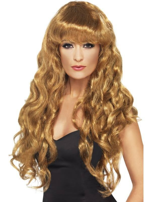 Siren Wig - Fancy Dress Ladies - Auburn