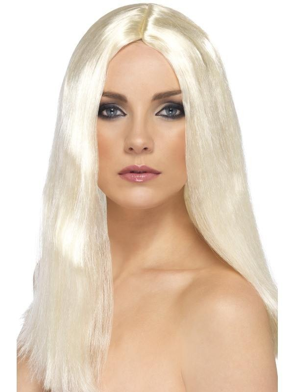 Star Style Wig - Fancy Dress Ladies - Blonde