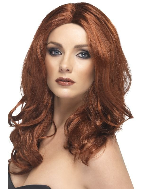 Superstar Wig Auburn - Fancy Dress Ladies