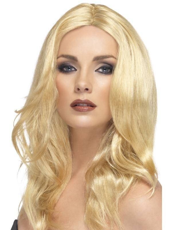 Superstar Wig Blonde - Fancy Dress Ladies