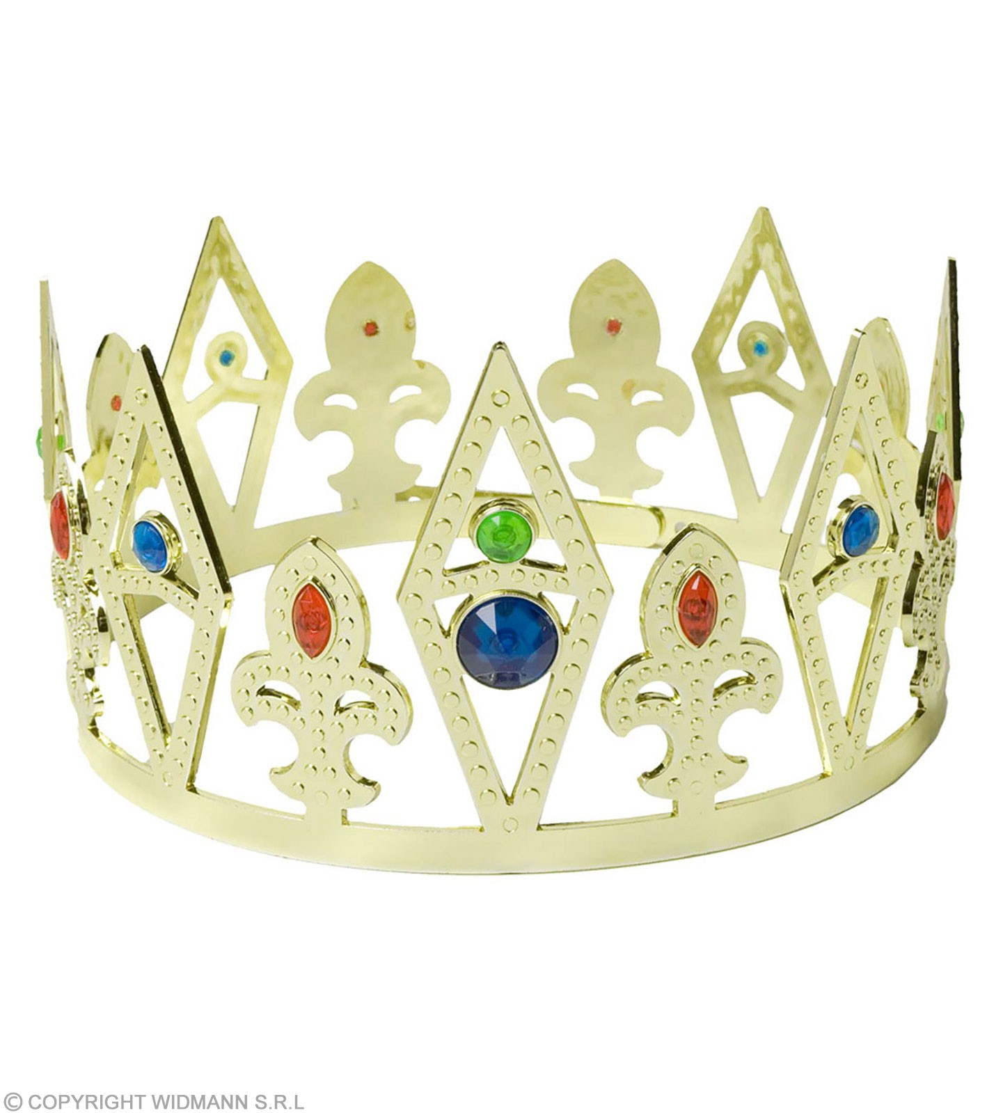 Buy Jewelled King Queen Crown Fancy Dress Royalty Largest
