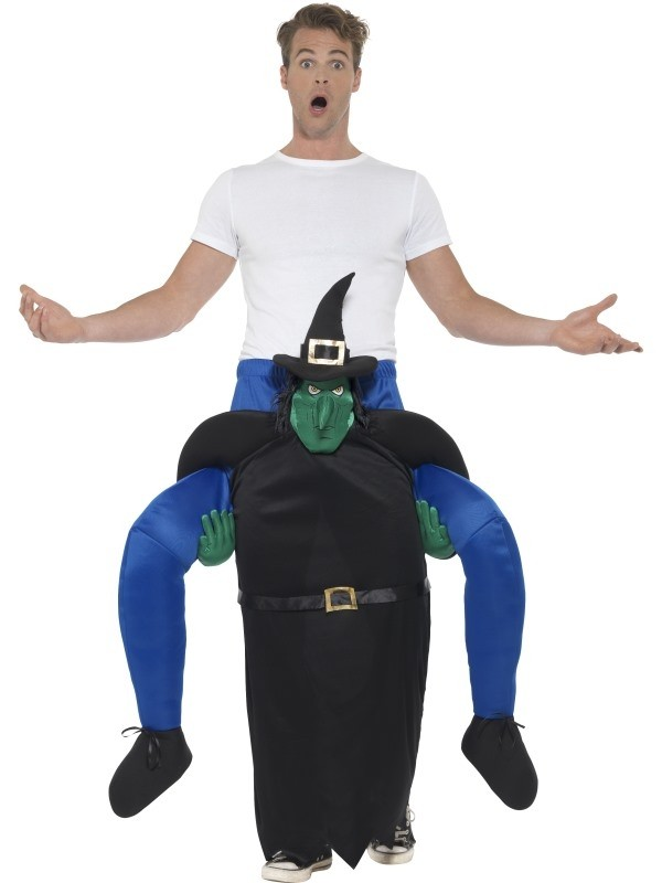 Piggyback Witch Fancy Dress Costume
