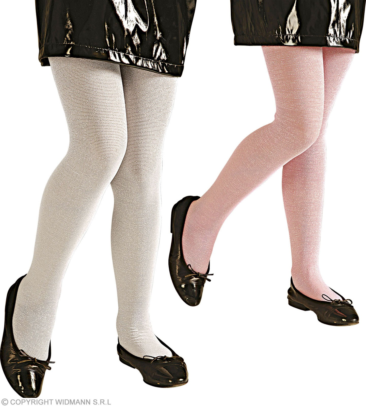 Pantyhose Glam/Girl Shimmering - 2 Cols - Fancy Dress