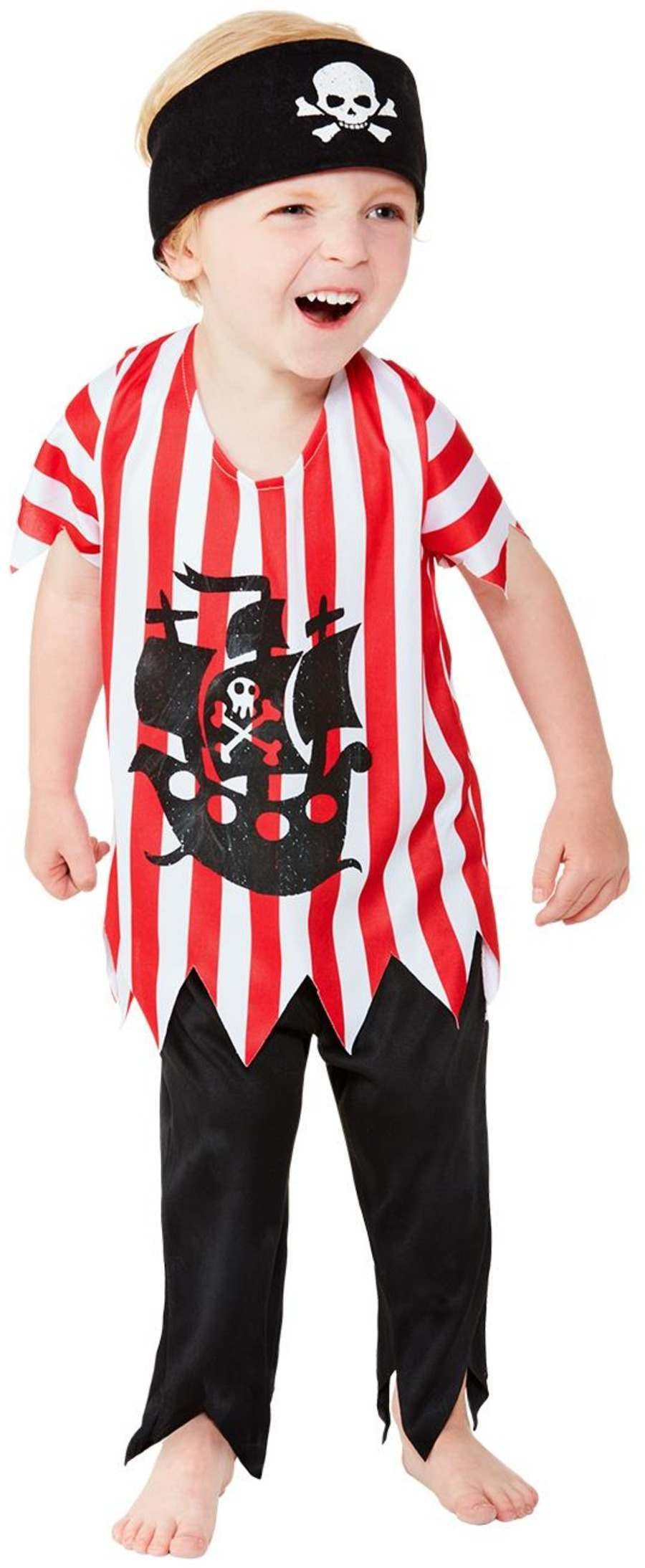 Toddler Jolly Pirate Fancy Dress Costume