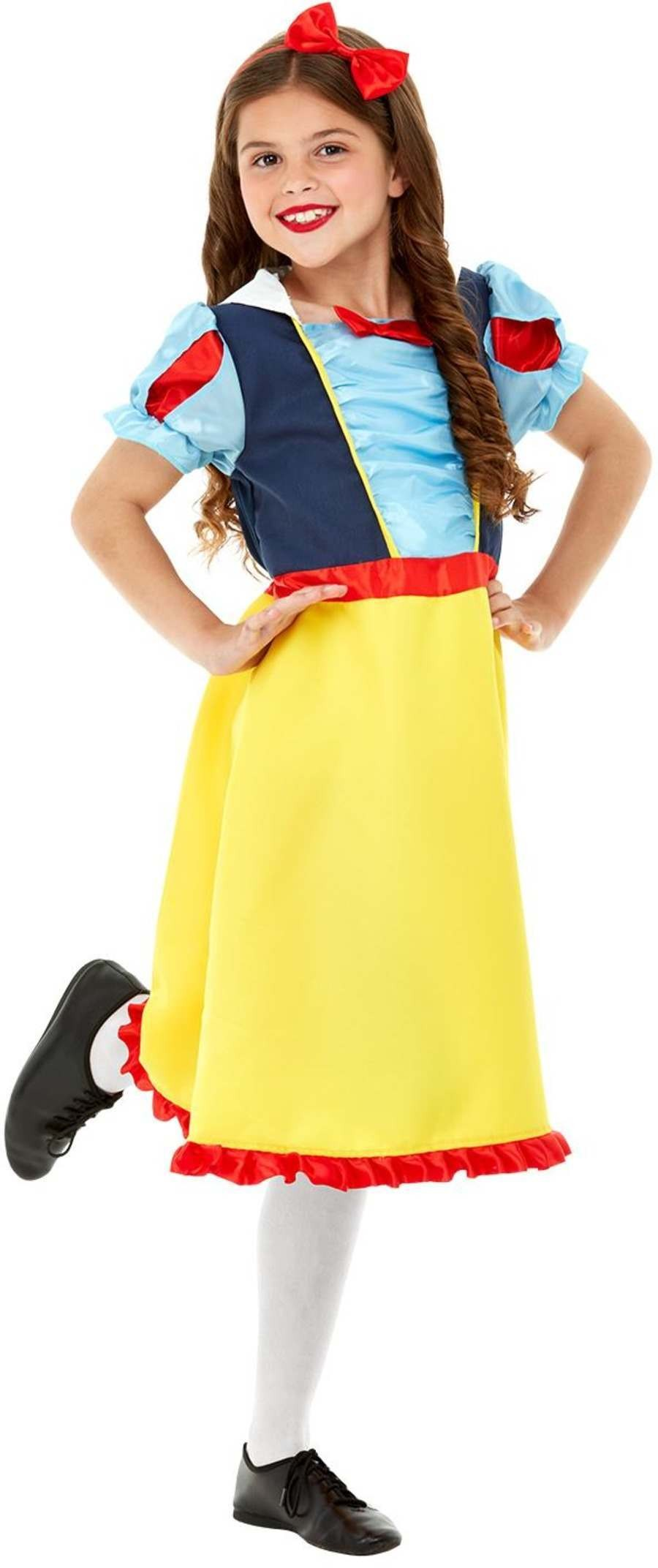Deluxe Princess Snow Fancy Dress Costume Book Day