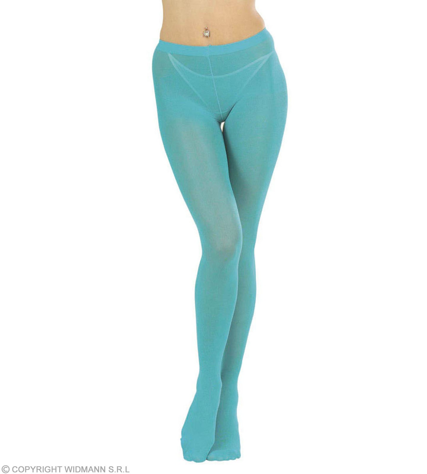 Pantyhose Turquoise - Fancy Dress
