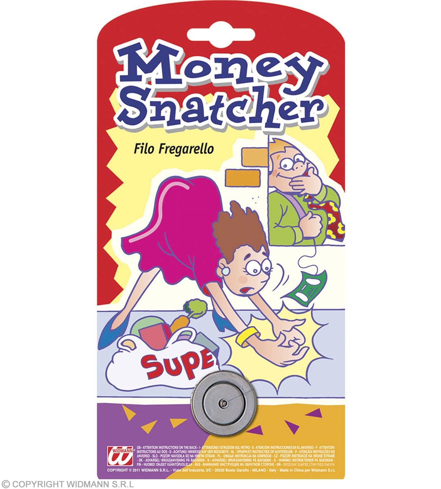 Money Snatcher Joke - Fancy Dress