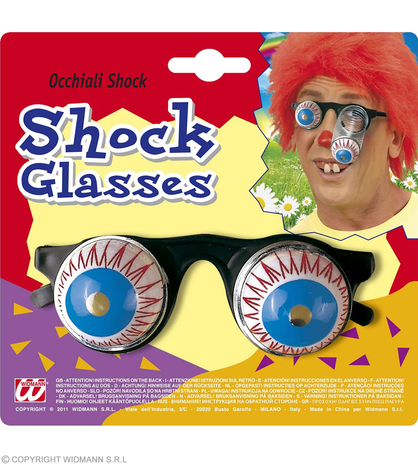 Shock Glasses - Fancy Dress