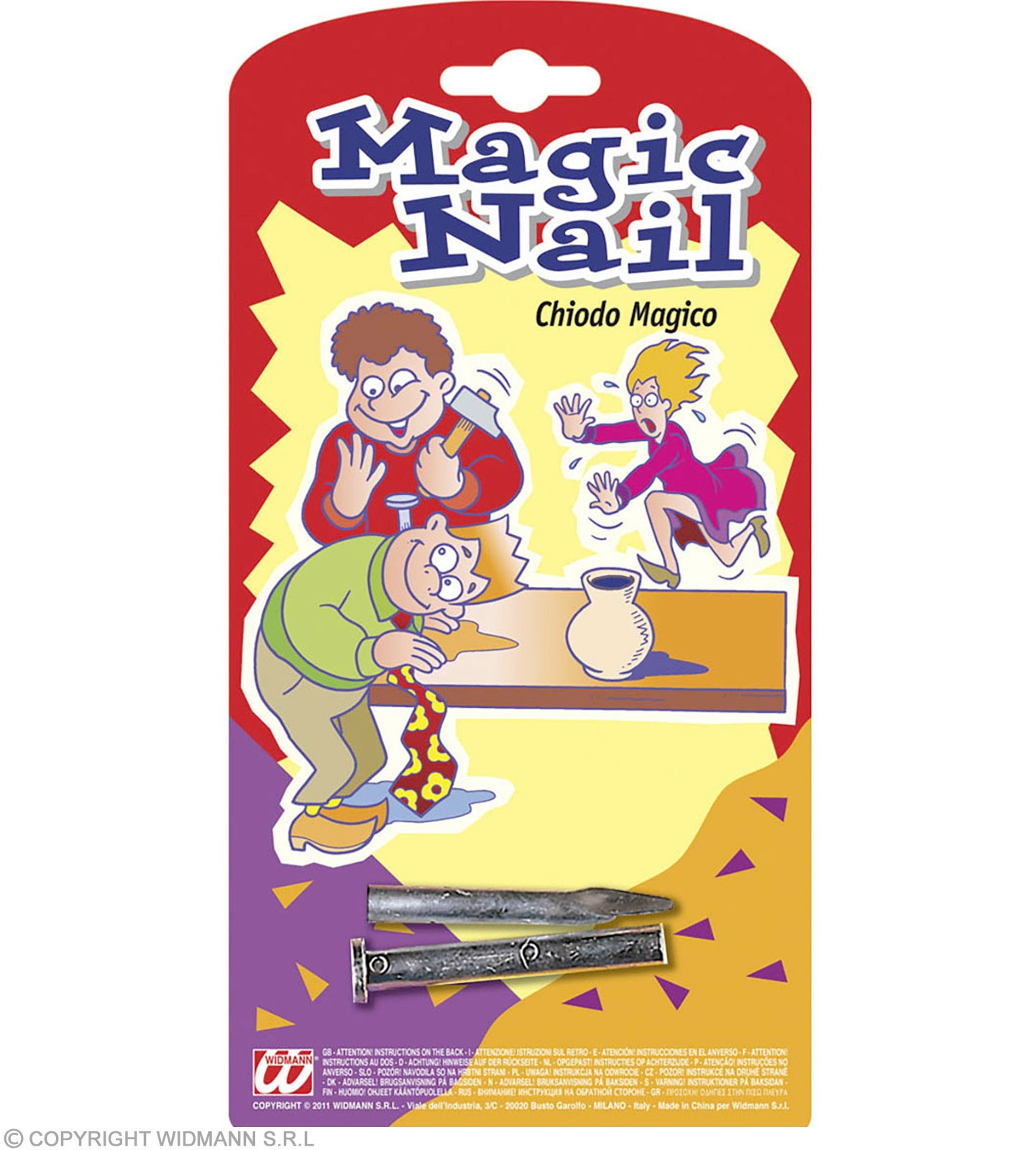 Magic Nail Joke - Fancy Dress