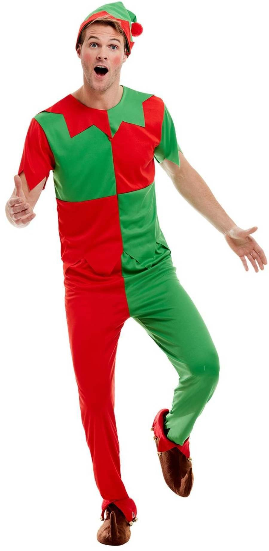 Elf Fancy Dress Costume Christmas