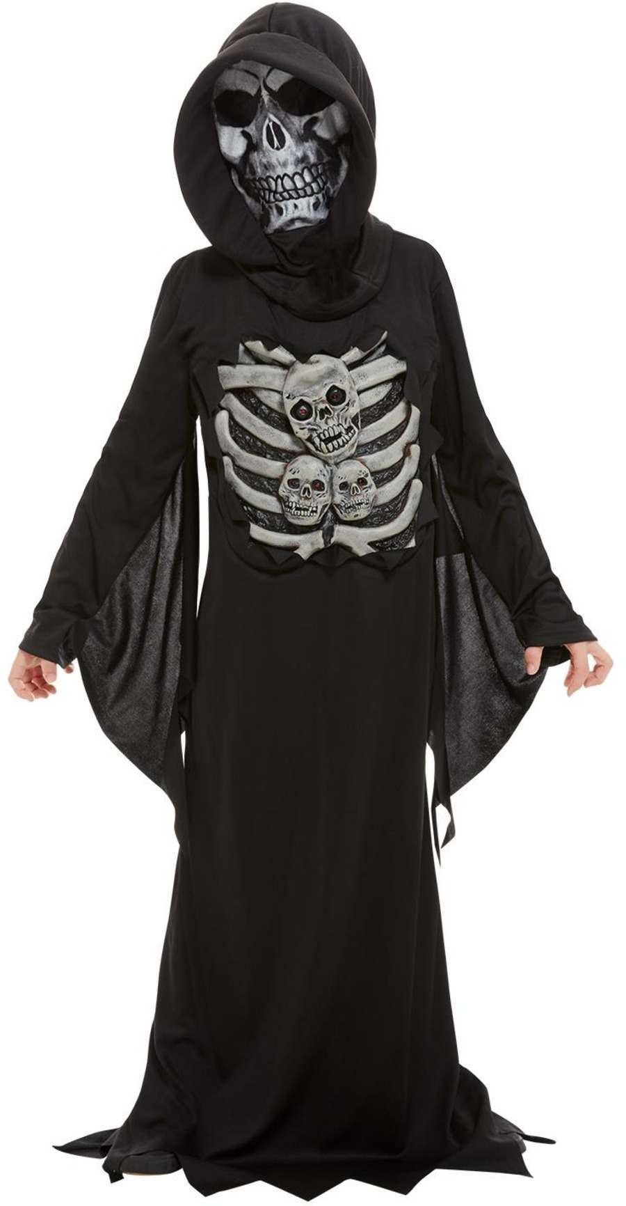 Skeleton Reaper Fancy Dress Costume Halloween