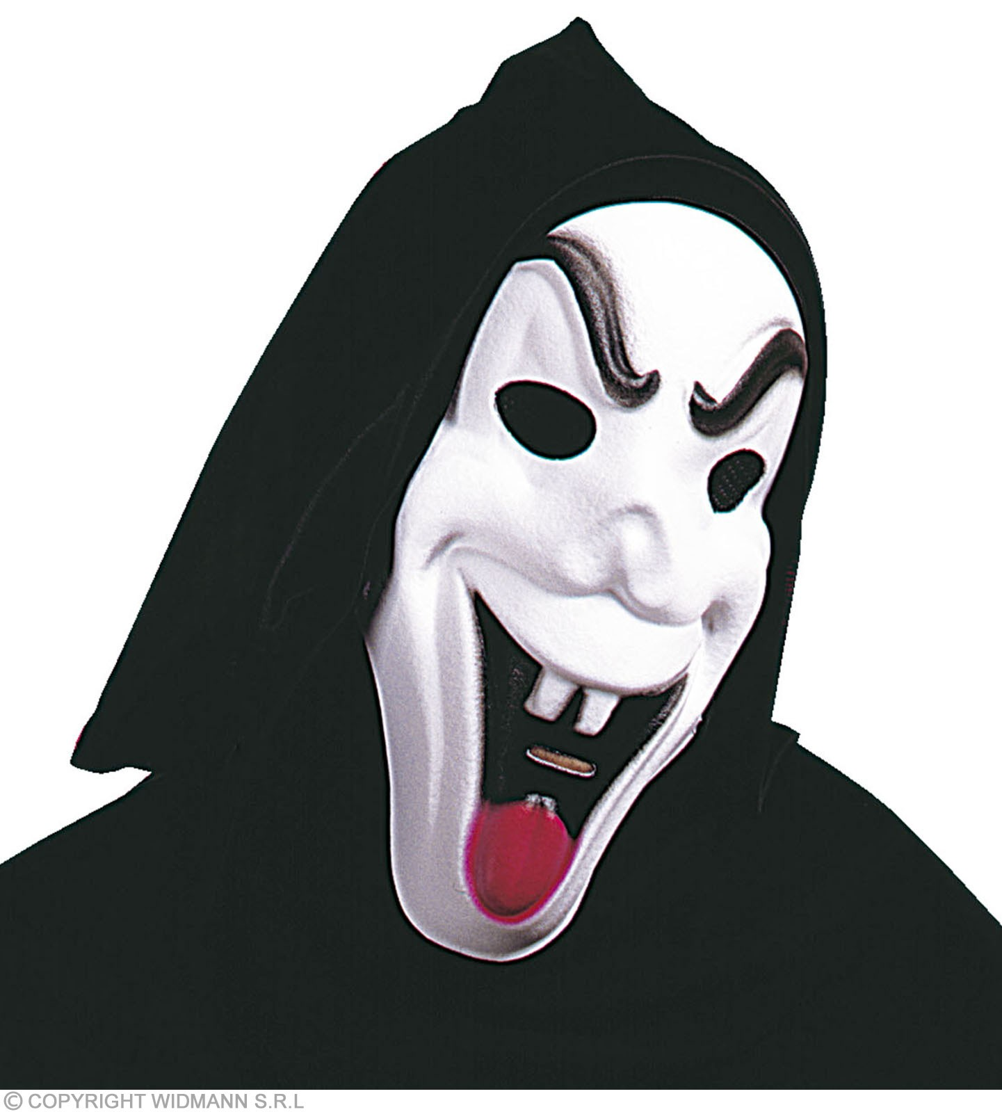 Hooded Funny Ghost Mask - Fancy Dress (Halloween)