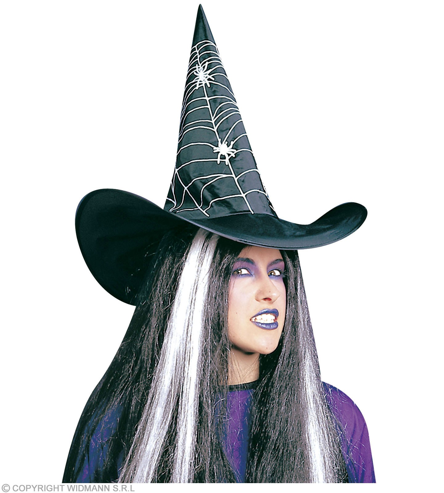 Witch Hat Printed - Fancy Dress (Halloween)