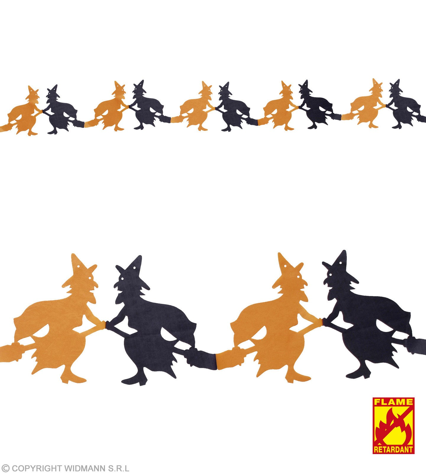 Garland 3M Flme Ret Witch - Fancy Dress (Halloween)