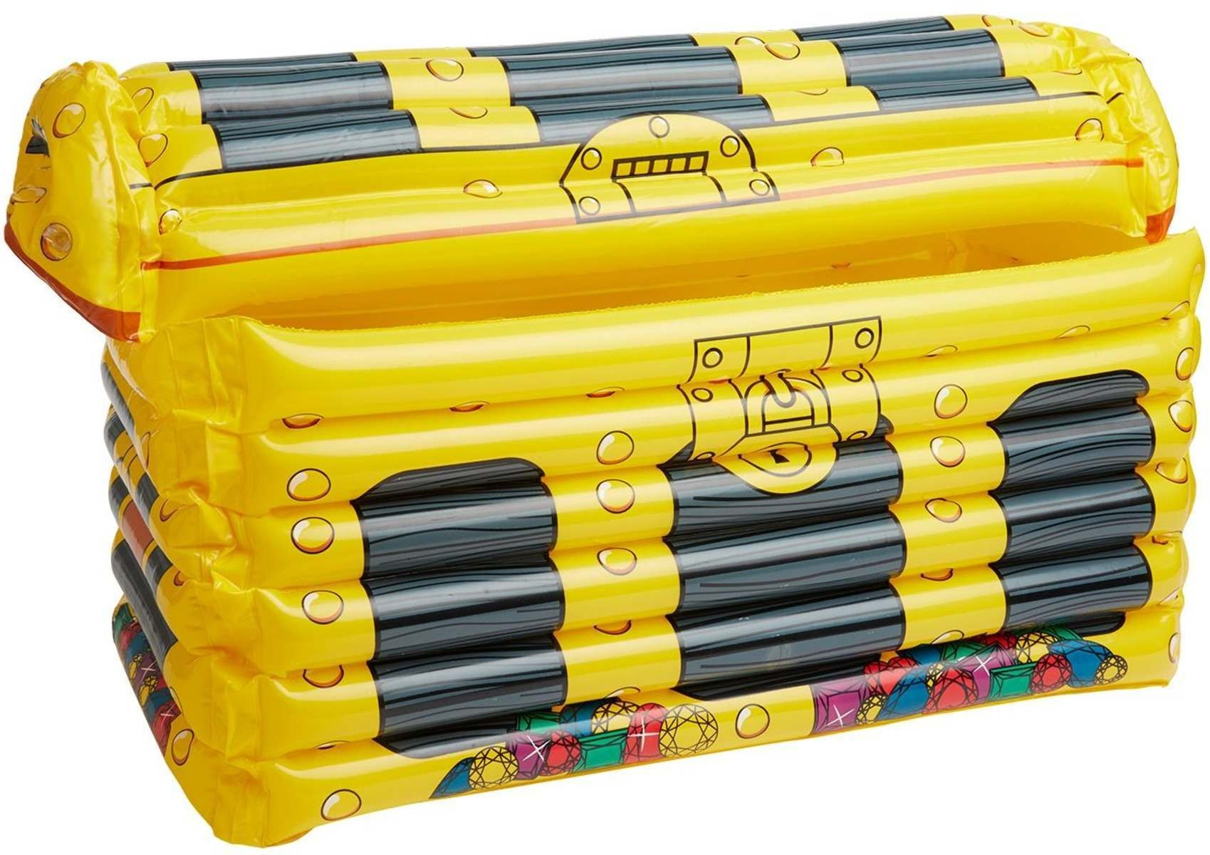 Inflatable Treasure Chest Drinks Holder Pirates