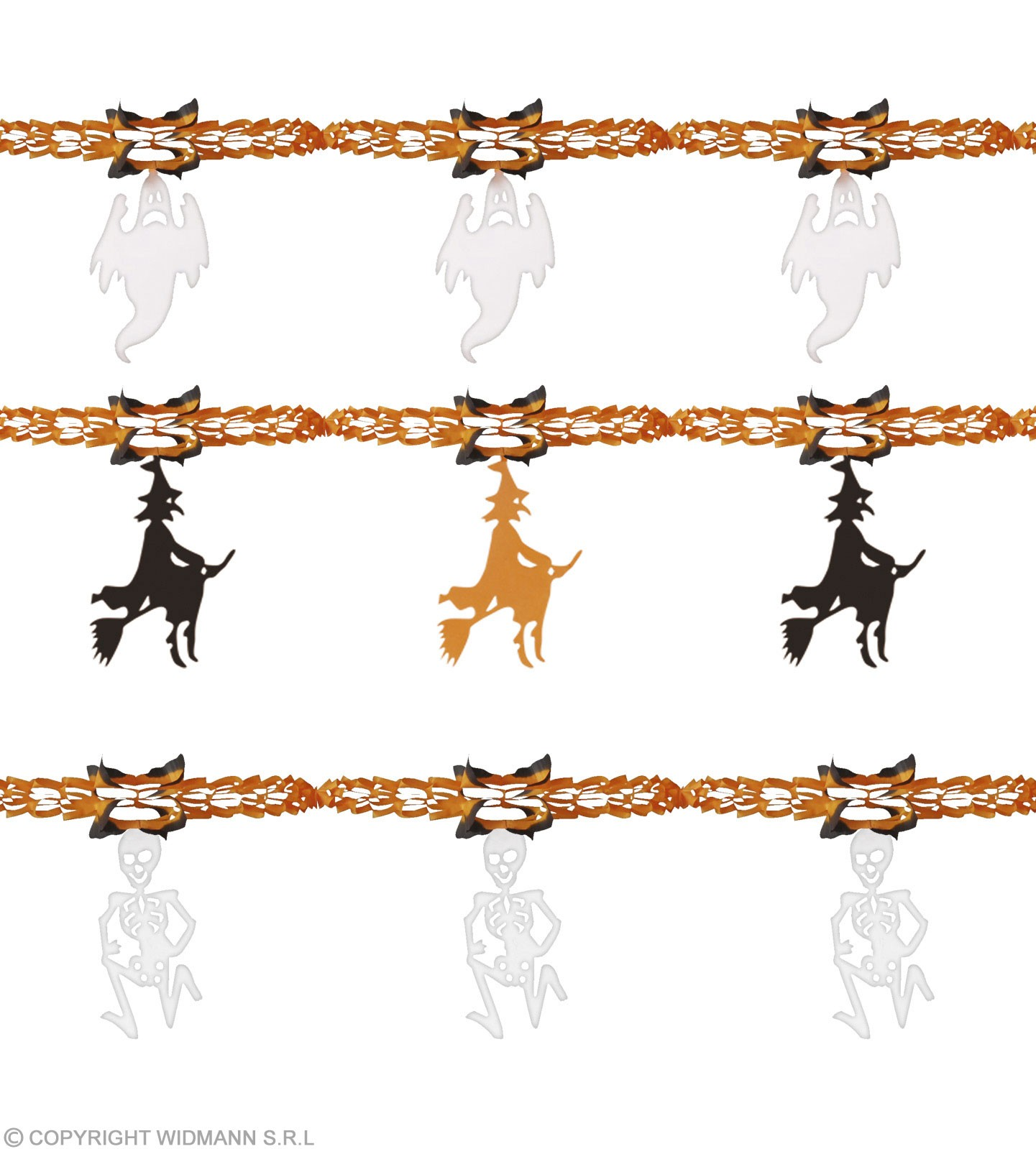 Halloween Garlands 3M 3 Styles - Fancy Dress (Halloween)