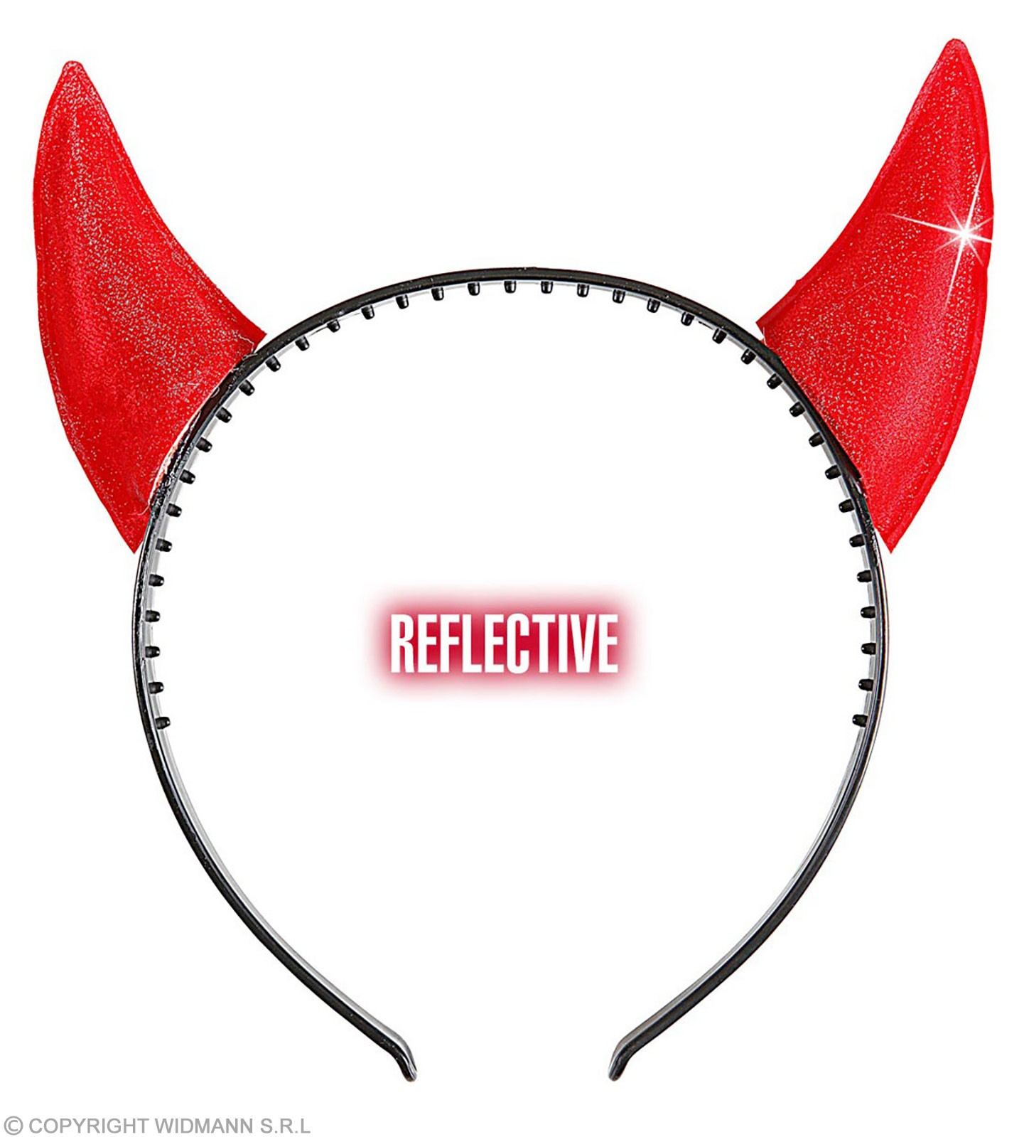 Horns Reflective Red - Fancy Dress