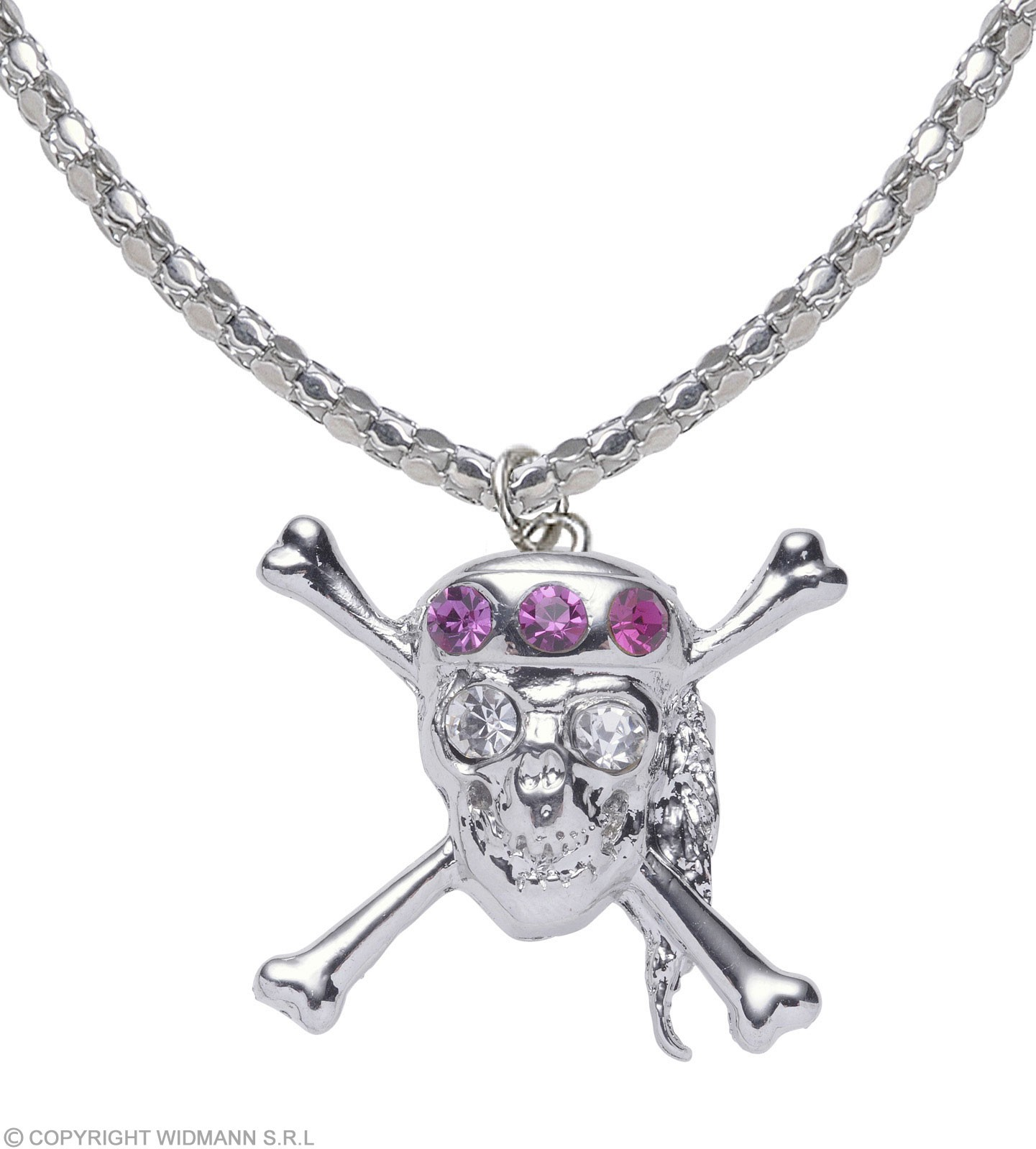Strass Skull Necklaces - Fancy Dress