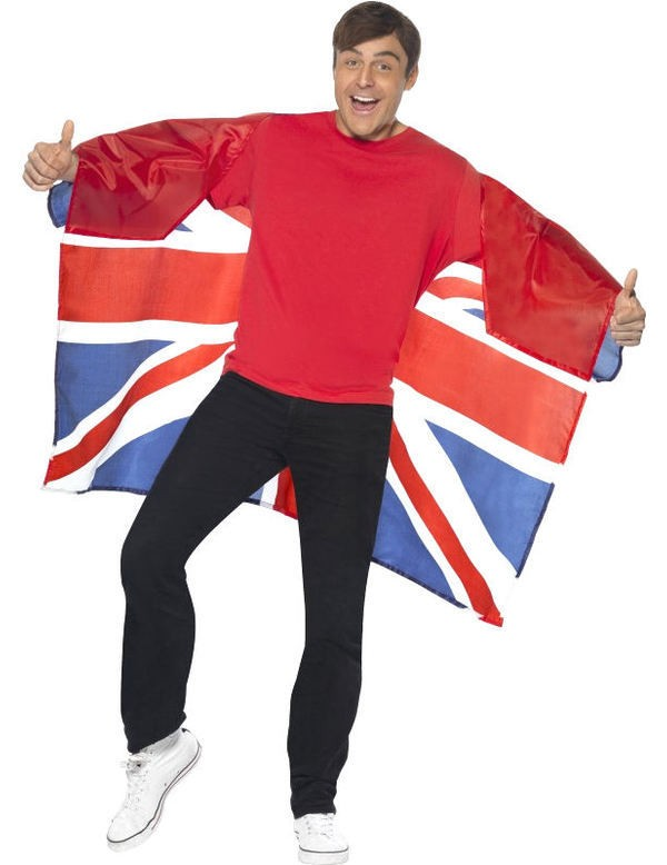 Wearable Union Jack Flag Fancy Dress
