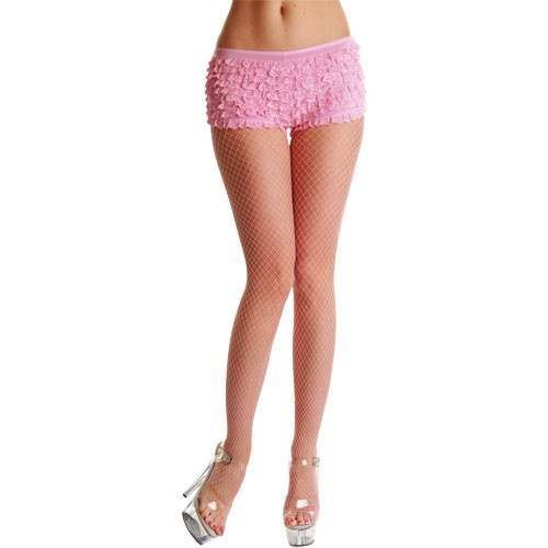 Micro Diamond Tights / Baby Pink - Fancy Dress Ladies