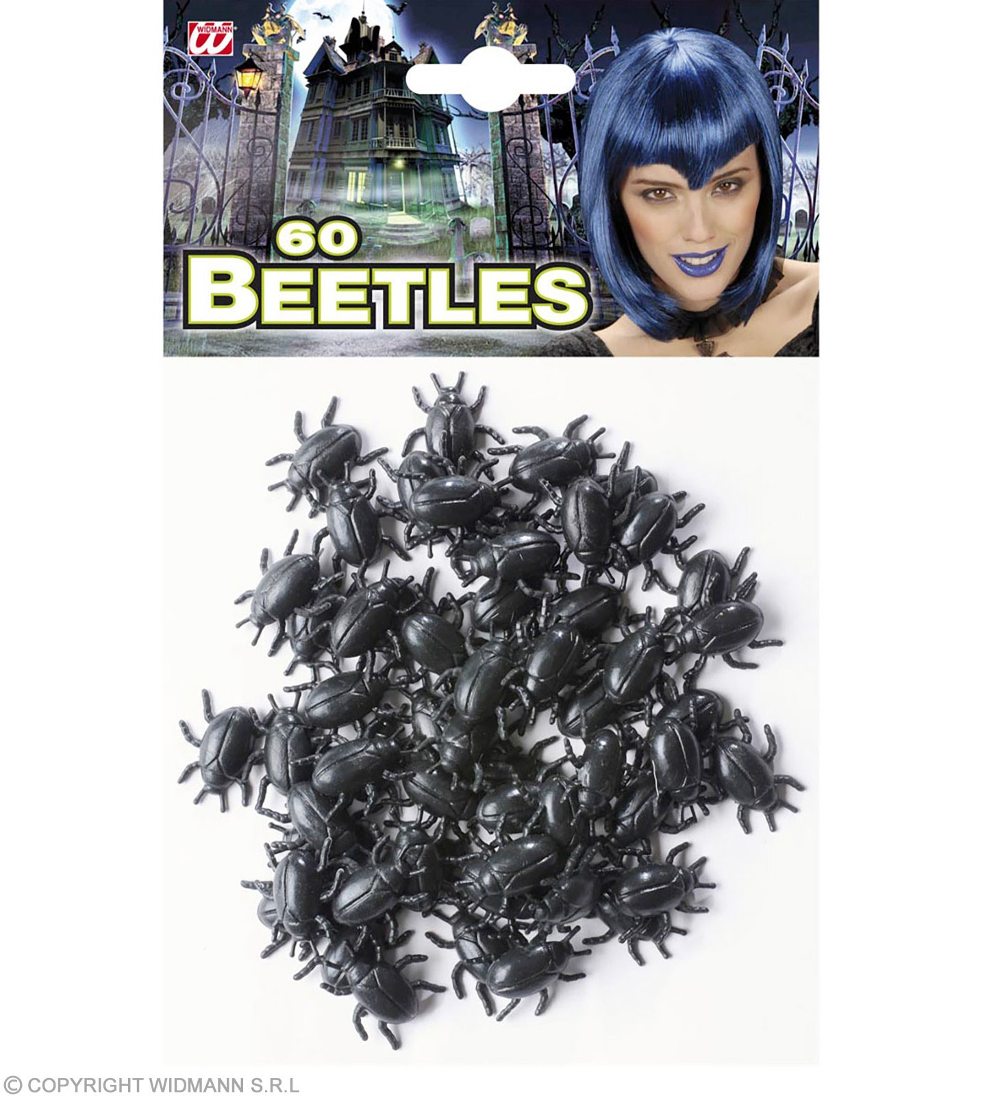 Set Of 60 Beetles - Fancy Dress (Halloween)