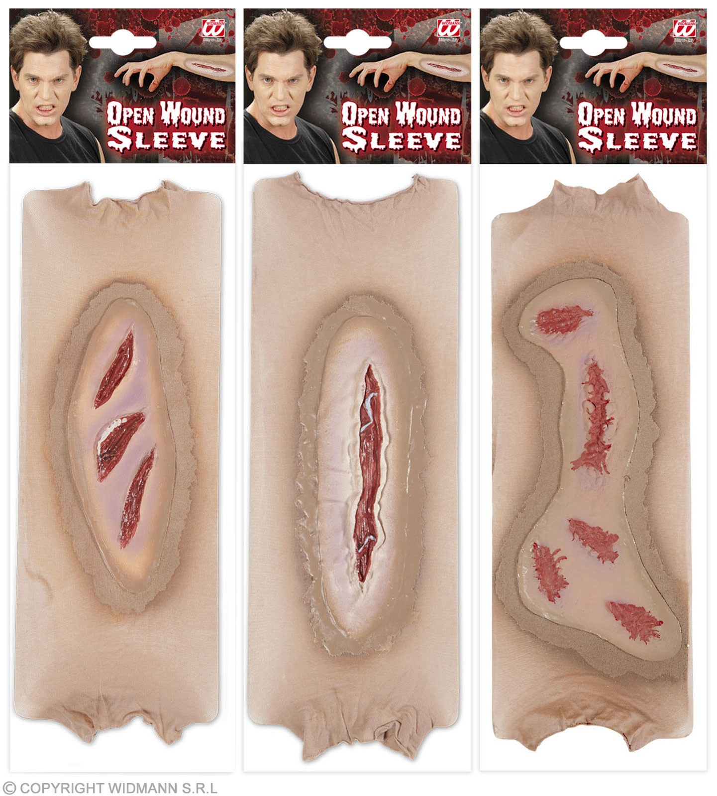 Open Wound Sleeves 3 Styles Ass Accessories