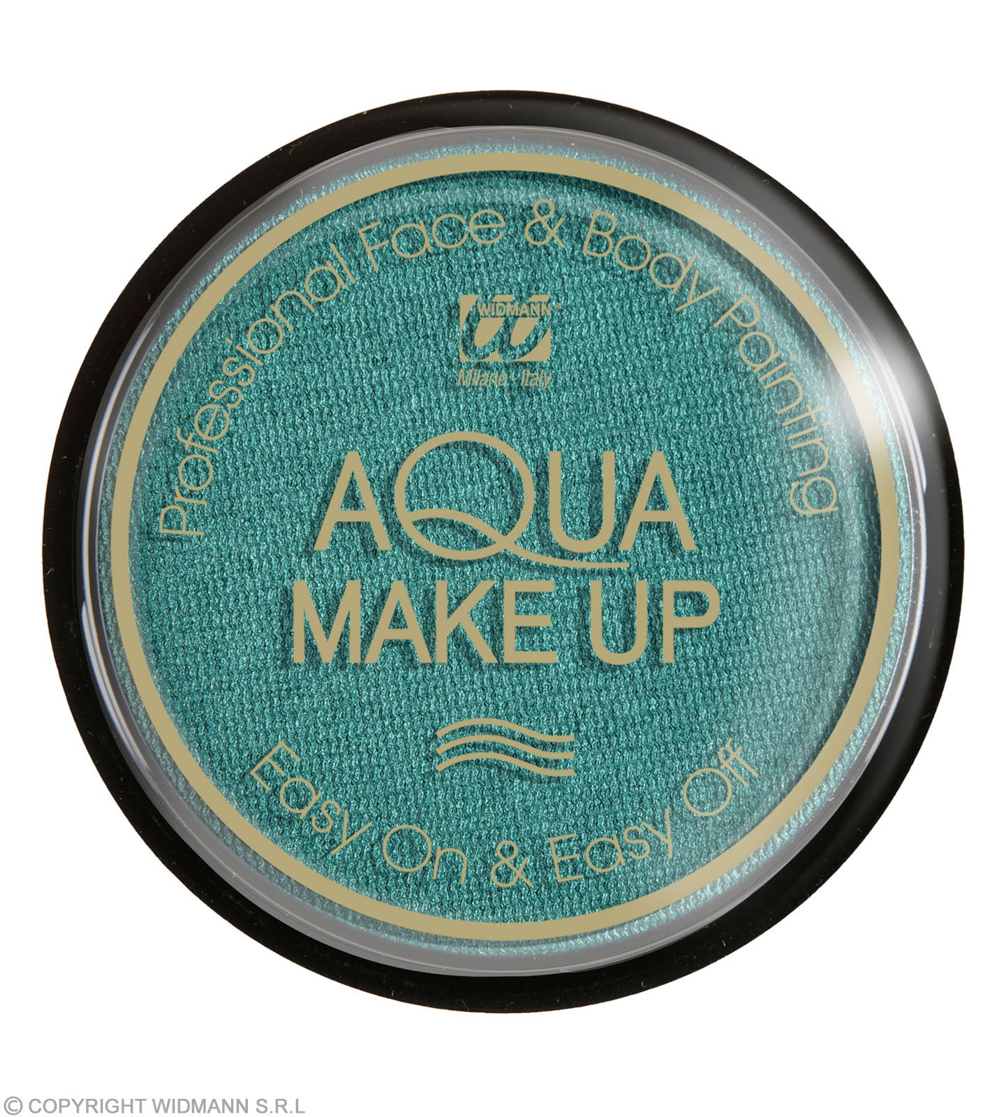 Aqua Makeup 15G - Metallic Green Makeup - (Green)
