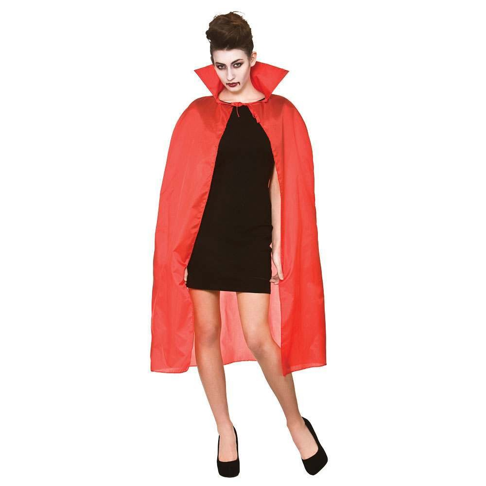 "Cape with Collar 42"" - RED Adult Accessories"