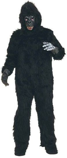 Gorilla. Best Fur Fancy Dress Costume
