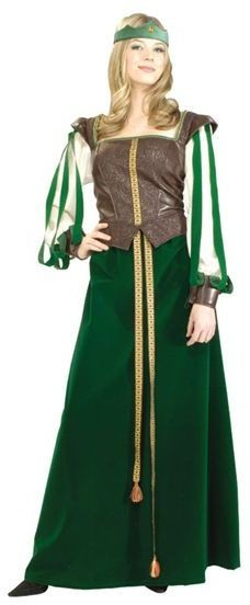 Maid Marion. Deluxe Quality Fancy Dress Costume