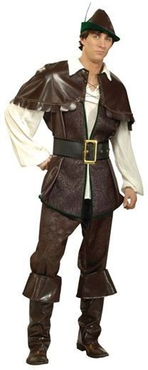 Robin Hood Deluxe Quality Fancy Dress Costume