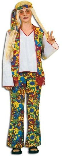 Hippy Lady (Flower Power) Pack Fancy Dress Costume