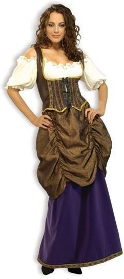 Pirate Wench. Deluxe Fancy Dress Costume