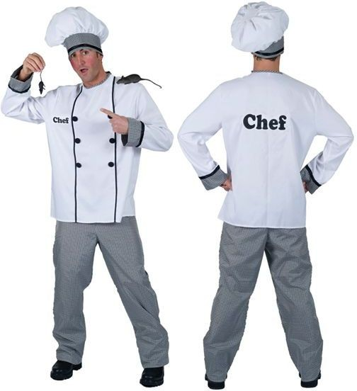 Chef Fancy Dress Costume