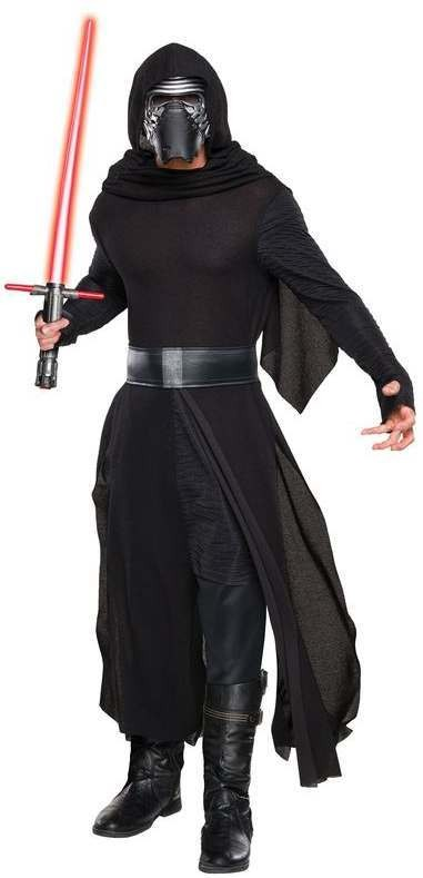 Adults Star Wars The Force Awakens Kylo Ren Fancy Dress Costume