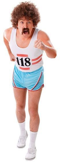 Running Vest + Short Fancy Dress Costume