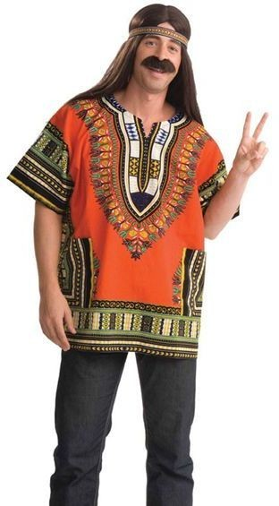 Dalshki Shirt. Orange (Cultures , Cultures Fancy Dress)