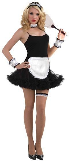 Petticoat Dress. Black Fancy Dress Costume