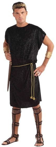 Tunic. Black Fancy Dress Costume