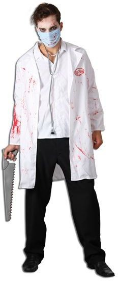 Dr Mad Fancy Dress Costume