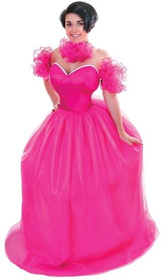 Gypsy Wedding . Pink Fancy Dress Costume