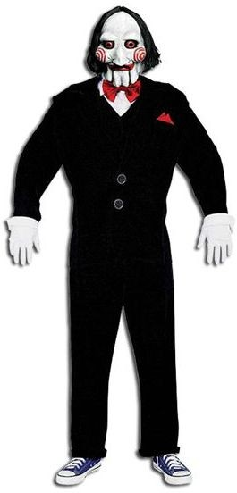 Saw Puppet. Economy Fancy Dress Costume